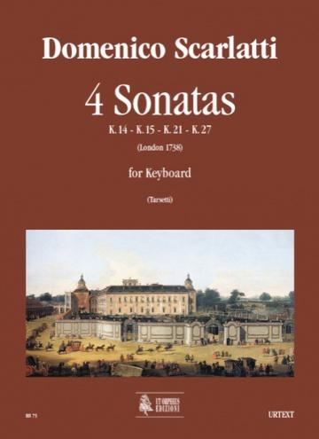 4 Sonatas (K. 14, 15, 21, 27) for Keyboard, de Domenico Scarlatti