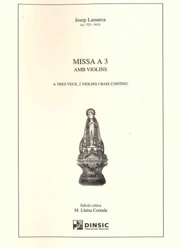 Missa a 3 amb violins