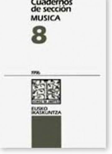 Cuadernos de sección. Música (8)