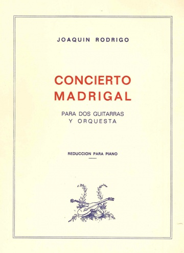 Concierto Madrigal ( Red, Piano)