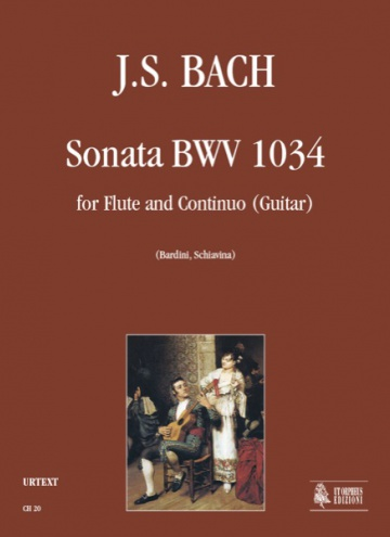 Sonata BWV 1034 for Flute and Guitar (Continuo), de Johann Sebastian Bach