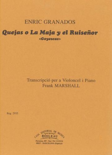Quejas o La Maja y el Ruiseñor (from