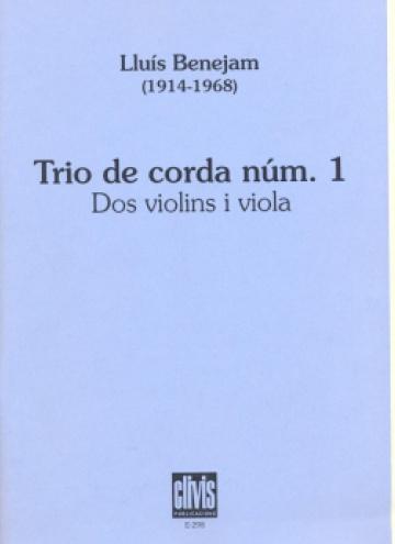 Trio de corda per a 2 violins i viola nº1