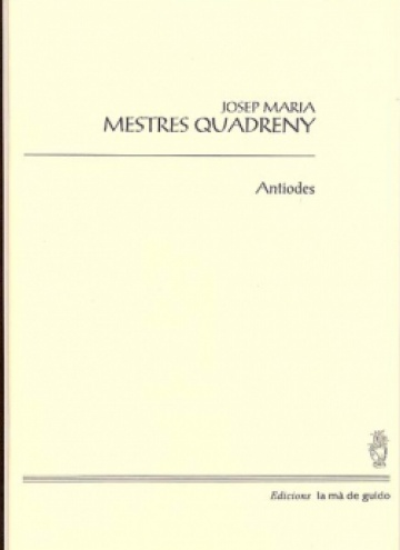 Antiodes, for orchestra