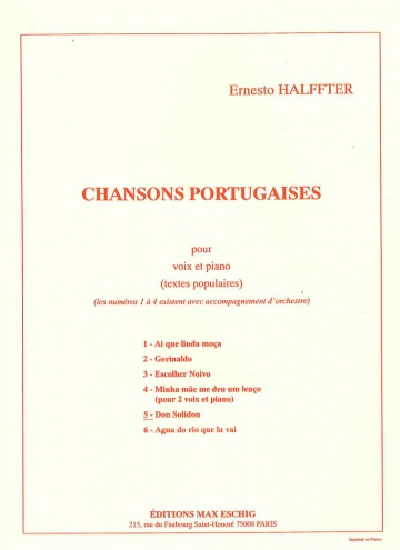Chanson portugaise 5