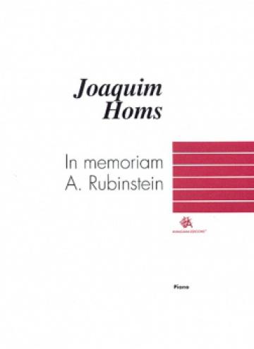In memoriam A. Rubinstein, for piano