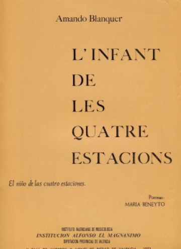 L'infant de les quatre estacions