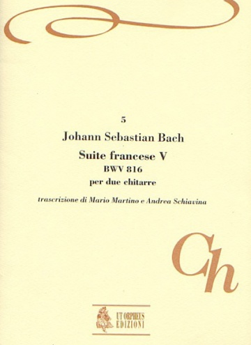 French Suite No. 5 BWV 816 for 2 Guitars, de Johann Sebastian Bach
