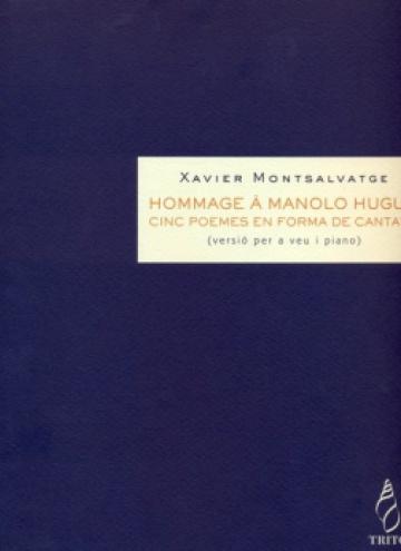 Hommage à Manolo Hugué (reducción para voz y piano)