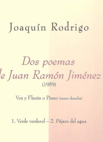 Dos poemas de Juan Ramón Jiménez