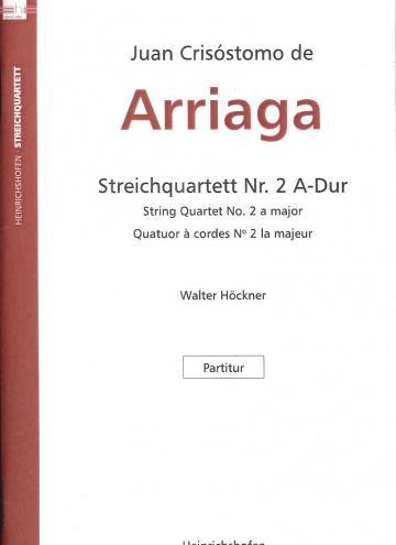 String quartet nº 2 (pocket score)