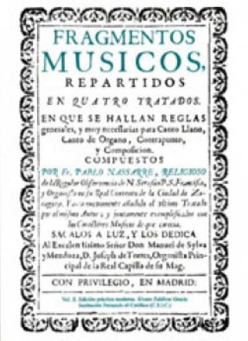 Fragmentos músicos (1683, 1700), II: edición práctica moderna
