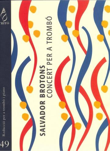 Concert per a trombó i orquestra, op.70 (reducció per a trombó i piano)