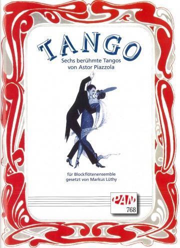 6 tangos de Astor Piazzolla