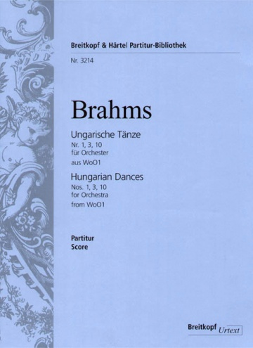 Ungarian dances nº 1,3,10