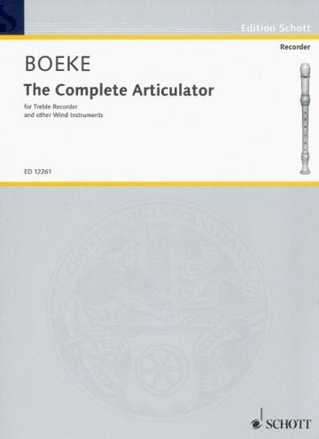 The complete articulator (flauta dulce contralto u otros instrumentos de viento)