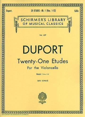 21 Estudios para violoncello vol 1