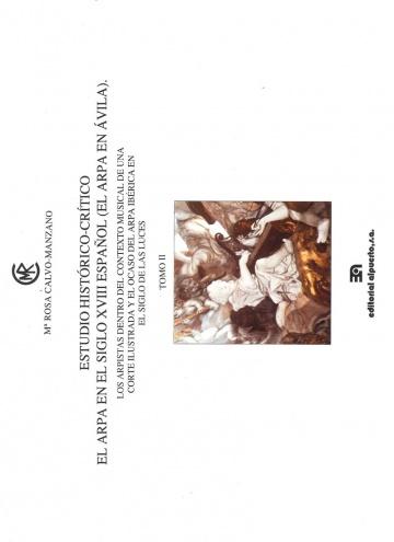 Estudio Histórico Crítico del arpa en el siglo XVIII español (El arpa en Ávila)