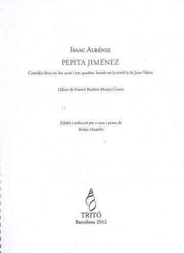 Pepita Jiménez (reducció)