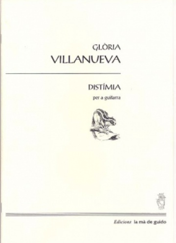 Distímia, for guitar