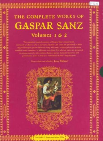 The Complete Works of Gaspar Sanz vol. 1 & 2