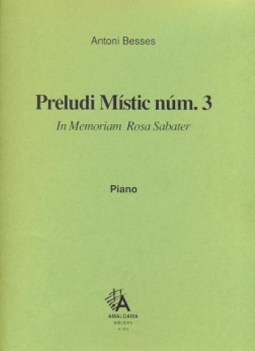 Preludi místic núm. 3, per a piano