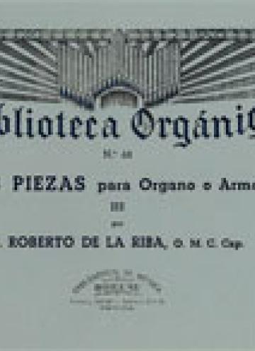 Tres piezas Vol.3º, de Roberto De La Riba