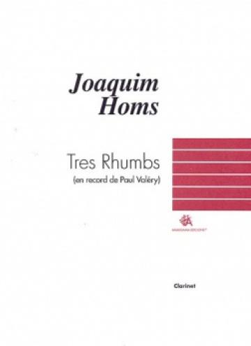 Three Rhumbs, for clarinet