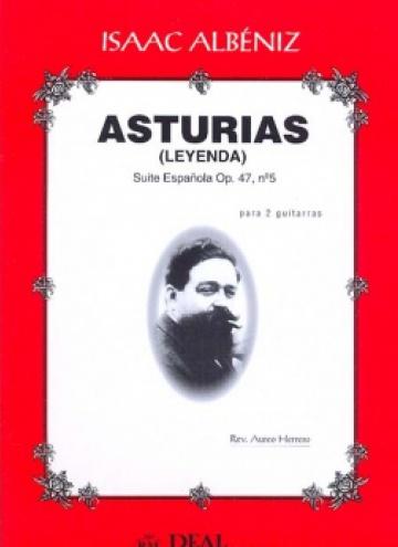 Asturias, op. 47 nº 5 (for 2 guitars)