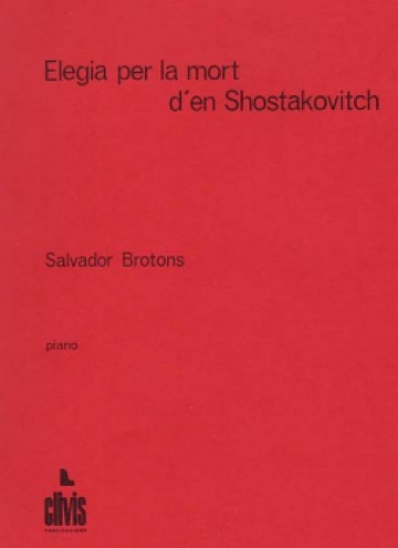 Lament for the death of Shostakovitch