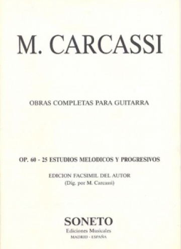 25 Estudios melódicos y progresivos op. 60