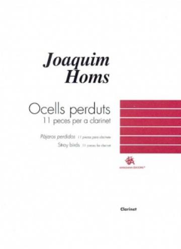 Stray birds, 11 pieces for clarinet