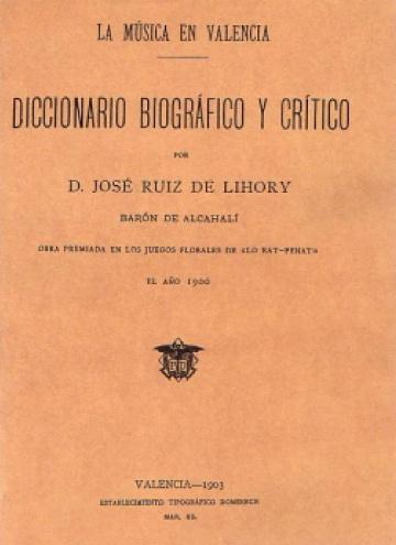 Diccionario biográfico y crítico