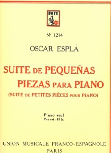 Suite de petites peces per a piano