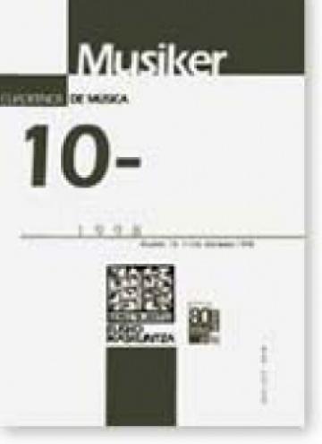 Cuadernos de música (10)