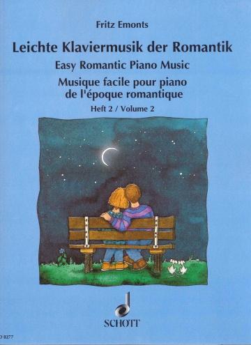 Música fácil para piano del Romanticismo, volumen 2