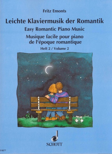 Easy Romantic Piano Music, volume 2