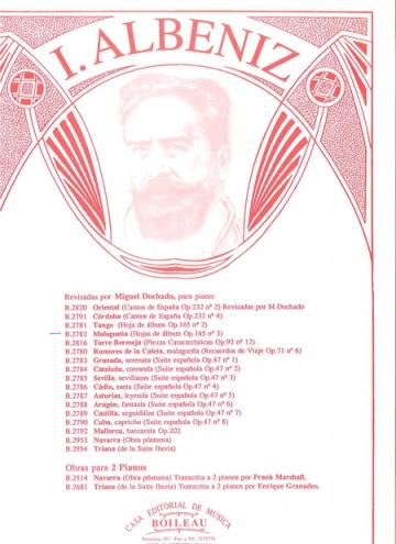 Malagueña, de España: hojas de álbum, op. 165, núm. 3