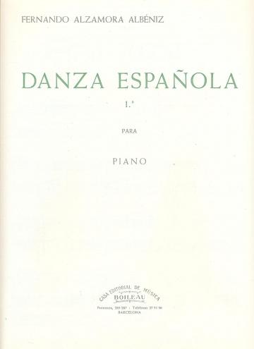 Danza española nº 1