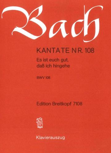 Cantata BWV 108 Es ist euch gut, dass ich hingehe (reducció)