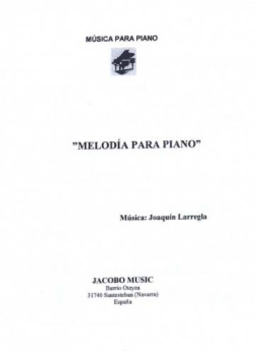 Melodía para piano