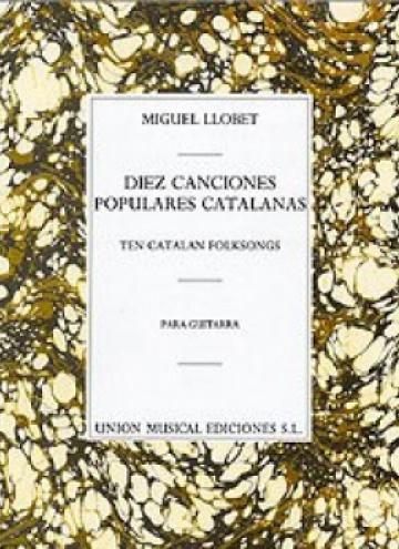 Diez canciones populares catalanas