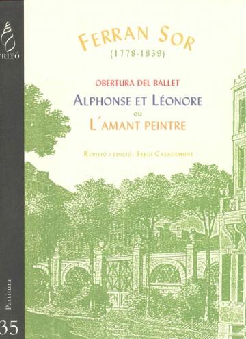 Obertura del ballet Alphonse et Léonore ou L'amant peintre