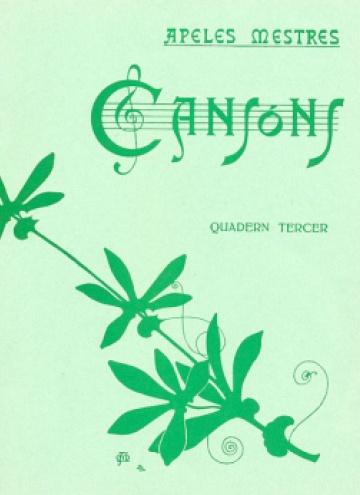 Cançons - Quadern tercer