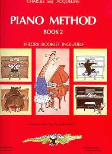 Piano method book 2 (theory booklet included)