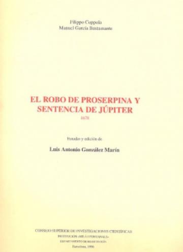 El robo de Proserpina y Sentencia de Júpiter
