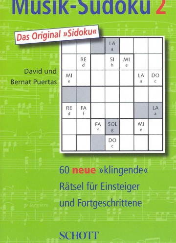 Music sudoku vol. 2