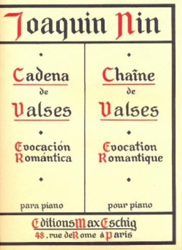Cadena de valses (Evocación romántica)