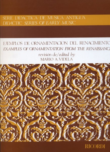 Examples of ornamentation fron the renaissance