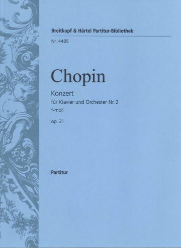 Concierto nº 2 op 21 para piano y orquesta (partitura)